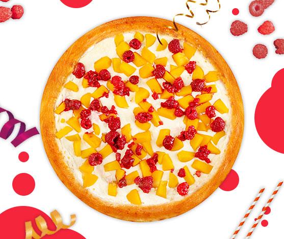 Сладкая пицца в подарок на День рождения